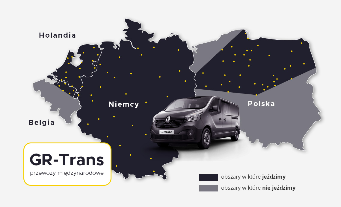 busy z polski do niemiec, holandi i belgii